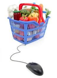 Lebensmittel Nach Hause Liefern Lassen Im Online Supermarkt