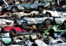 Autoteile bei der Autoverwertung